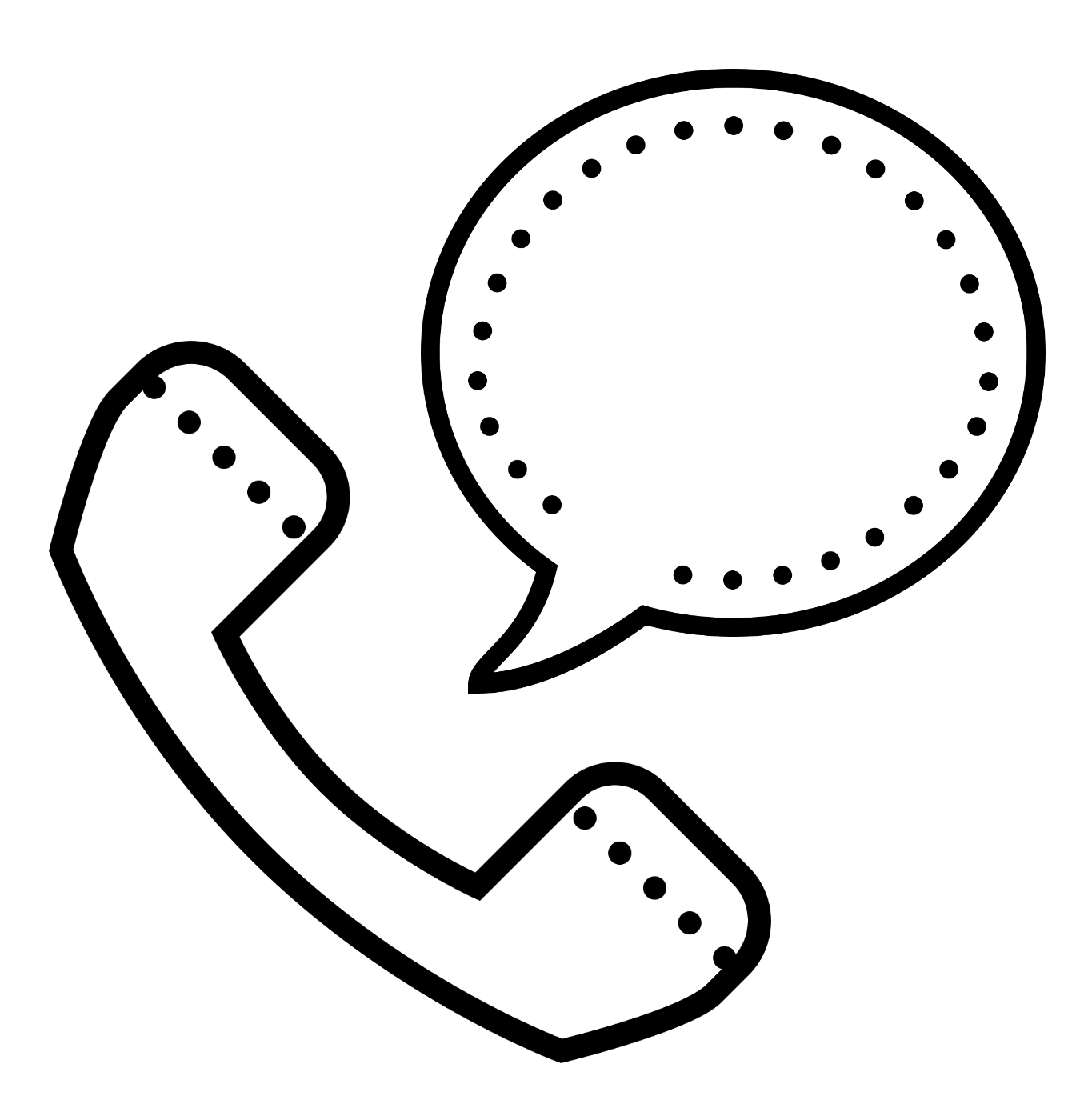 Speaking on the Phone icon